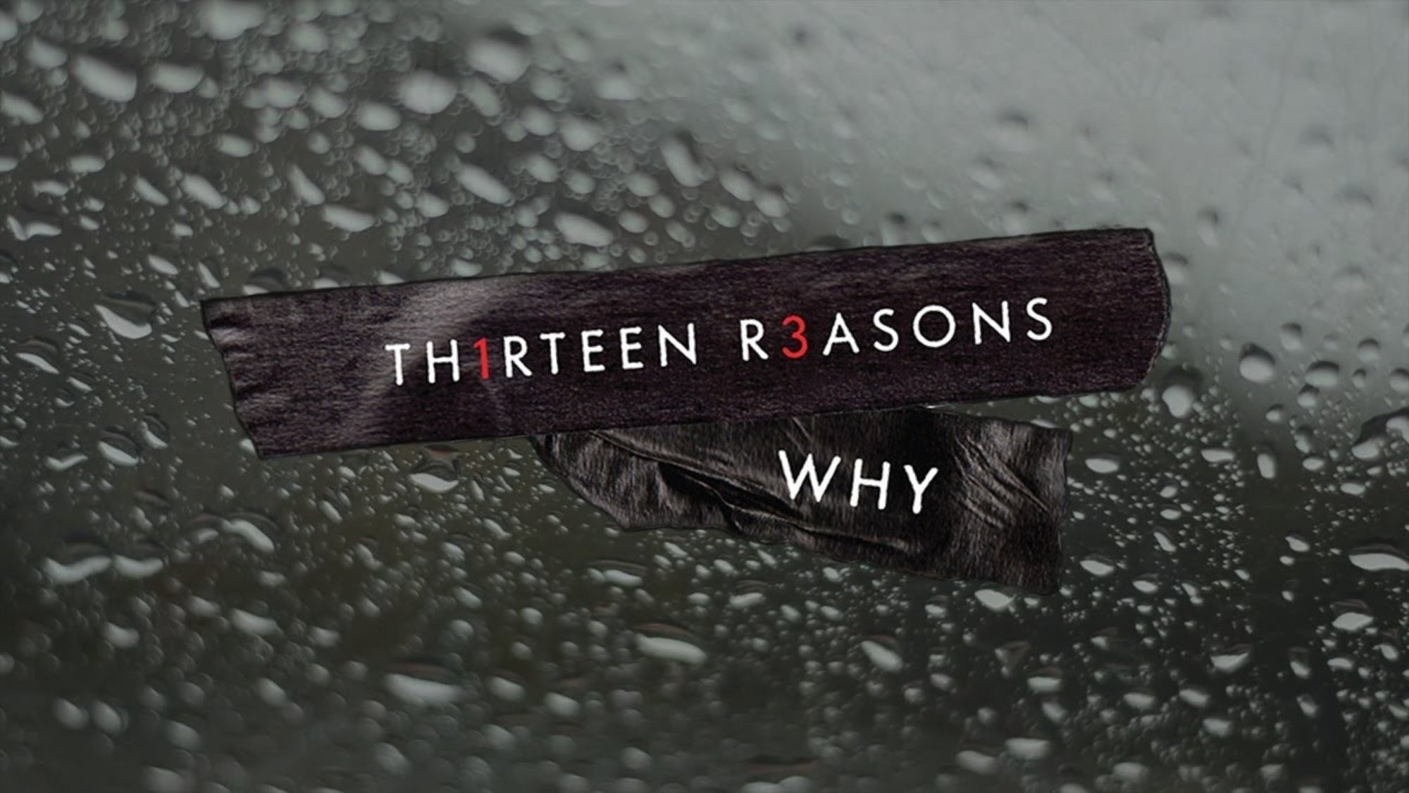 13 Resons Why - Netflix series