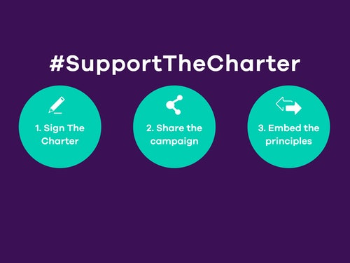 Sign The Charter Steps News Item